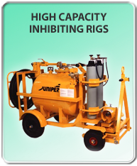 High capacity Inhibiting Rigs